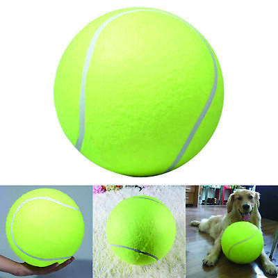 "9.5"" Puppy tennis balls for Big Giant Pet Dog Thrower Chucker Launcher Play Toy"