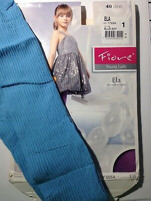 FIORE -GIRLS PATTERNED TIGHTS-40 DEN -  (Age 4-5)