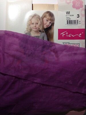 FIORE -GIRLS PATTERNED TIGHTS-40 DEN - (Age 9-10)