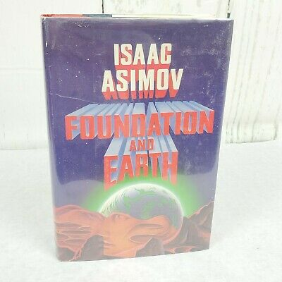 Asimov, Isaac Book FOUNDATION AND EARTH 1st Edition 1st Printing ☆ Excellent