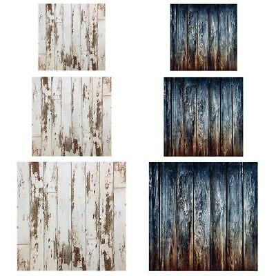 Vintage Wooden Planks Texture Background Cloth Photography Backdrop Prop Decor
