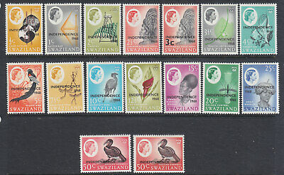 Swaziland 1968 Independence part set MH