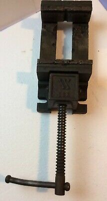 Used Vintage Wilton Drill Press Vise Threads Nicely 4.5 X 4.5 Inches Opening