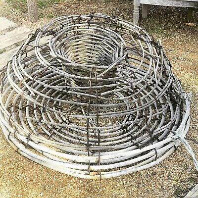 Beautiful big old Cray Pot / Lobster Pot / Garden Art
