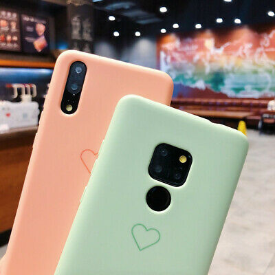 Luxury Silicone Soft Case Cover For Huawei P30 Pro Mate 20 Lite P Smart Plus P20