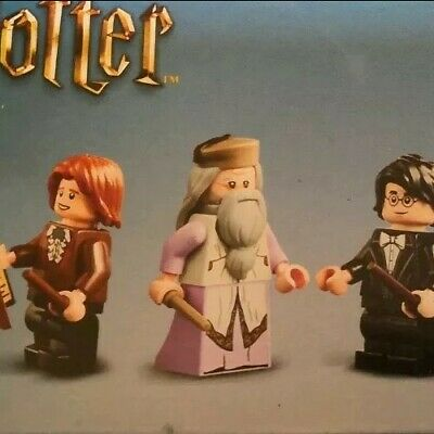 Lego Minifigures From Set 75948 - Harry Potter - 8x Figures In Total