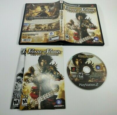 Prince of Persia The Two Thrones PS2 2005 Complete