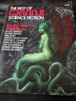 vintage omni science fiction magazine