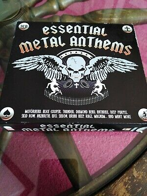 Various Artists - Essential Metal Anthems Disc 3 (CD 2006) Rare Metal Tracks 45