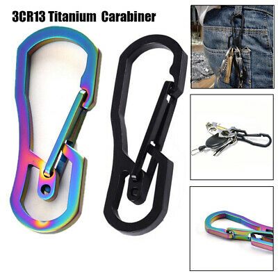 Carabiner Camping Clip Outdoor Key Ring Clip Keychain Buckle Camping Clip