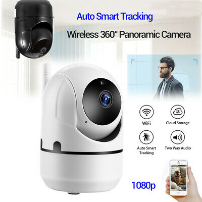 HD 1080P Cloud Wireless Wifi IP Camera Smart Auto Tracking Home Security Cam AU!