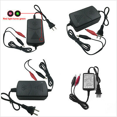 12V Battery Charger Maintainer Amp Volt Trickle US Plug For Car Truck Motorcycle