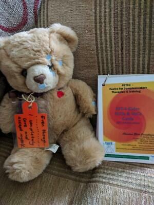 Emotional Freedom Technique for Kids EFT Children Teddy & Cards Calming Process