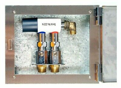 Broen STABITHERM THERMOSTATIC MIXING VALVE 295x237x85mm Stainless Steel Box
