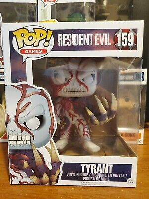 "Funko Pop! Games Resident Evil Tyrant #159 Hot Topic Exclusive 6"" (no sticker)"