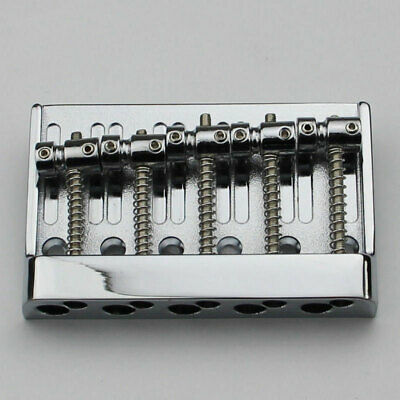 CHROME 5 String Electric Bass Bridge For Schecter,Squier,Rogue,Peavey,ESP LTD