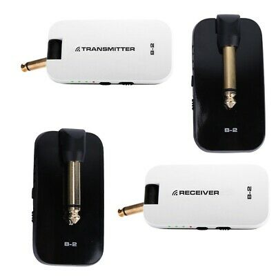 Wireless Guitar System 2.4GHz Remote Rechargeable Audio Receiver Transmitter