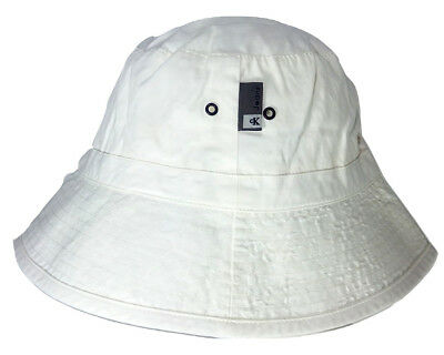 02c8fdf04ea8a CALVIN KLEIN BUCKET Hat Made in Italy gray original with hologram ...