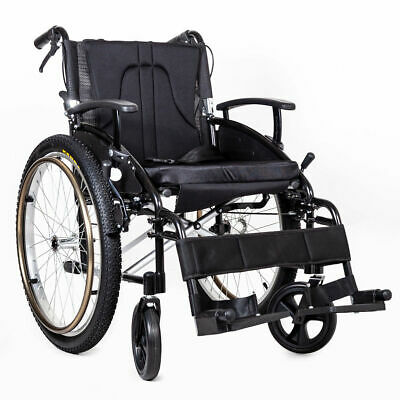Elite Care Voyager all terrain outdoor self propel wheelchair with bike tyres
