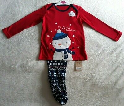Girls Christmas Pyjama's 18-24 month