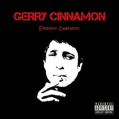 Gerry Cinnamon  ~ Erratic Cinematic ~ Ltd Ed Red Vinyl Lp   ~ *New/Sealed*