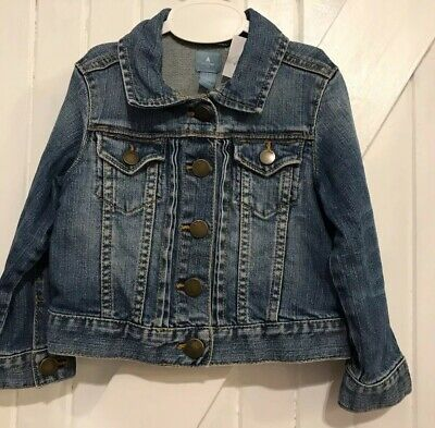 Baby Gap Age 2 years Denim Jacket Traditional Style Good Condition