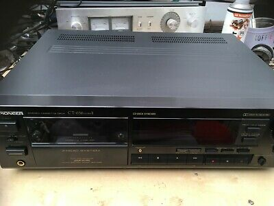 Pioneer CT-656 Mark II 3 Head Cassette Deck Perfect Condition