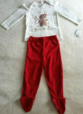 Baby Girls First Christmas Pyjama's 9-12 Month