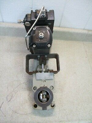 Durco 2'' 150Psi Butterfly Valve & Actuator #625902G Used