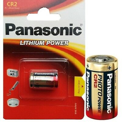 80x Panasonic CR2 Foto Baterías Litio Power Pilas Foto 3V Ampolla Mhd 2026