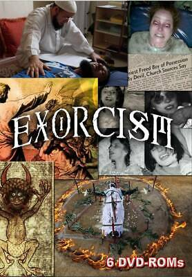 Exorcism - documents and multimedia - 6 DVD-ROM  box