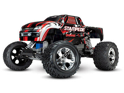 Traxxas Stampede XL-5 iD RTR (Red) #TRX36054-4-RED Bundle