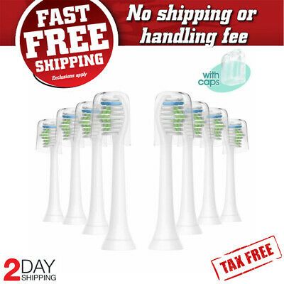 8 Pack Oral Replacement Brush Heads for Philips Sonicare 2 3 series Toothbrush