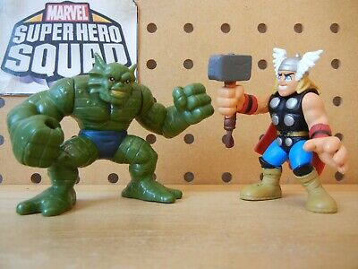 Marvel Super Hero Squad RHINO Classic Comic Version from Wave 12