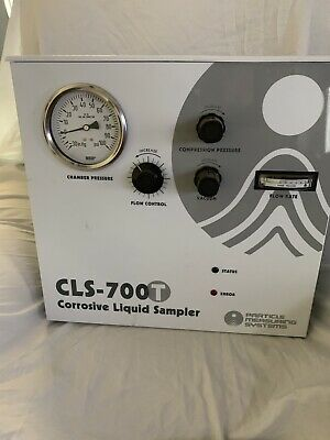 Particle Measuring Systems Cls-700T Corrosive Liquid Sampler