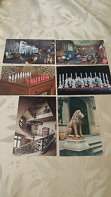 Lot Of 6 Vintage Postcards from Biltmore House & Gardens Unposted