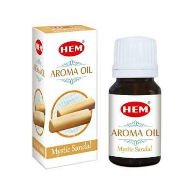 100% Natural Essential Oil Aromatherapy Mystic Sandal Fragrance Aromatic 10ml