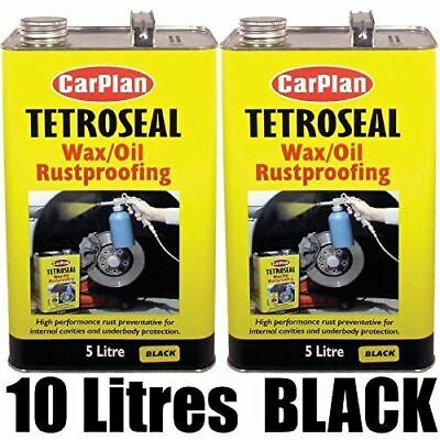 Tetrosyl Carplan Waxoyl Rustproof Protector BLACK 10 Litre - CarPlan Wax Oil