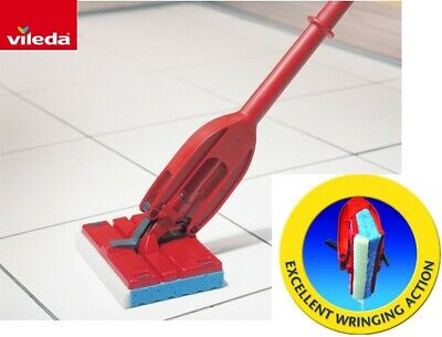 Vileda Magic Mop Flat Sponge for Laminate Floor Bathroom Kitchen Tiles