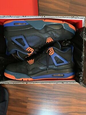 buy online 24edb 43525 AIR JORDAN 4 Retro Cavs Black Orange Royal Size 11 Style ...
