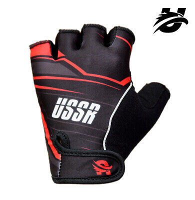 USSR® Gym Fitness Gloves Men Weight Lifting Bodybuilding Training Workout