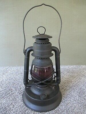 Antique Lantern DIETZ LITTLE GIANT State of Pennsylvania, Large 70 Hour Fount