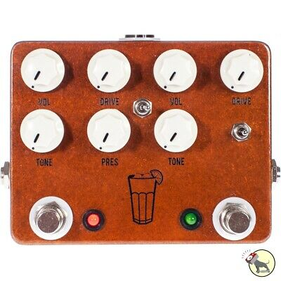 JHS Pedals Sweet Tea V2 Dual Overdrive Distortion Classic Guitar Effects Pedal