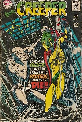 Creeper 5 - 1969 - Ditko - Very Good