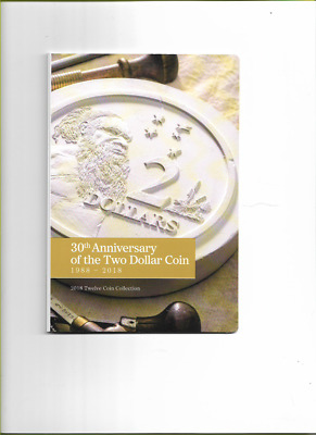 2018 $2 30th Anniversary of the $2 Coin Set Folder Only. NO COINS!!