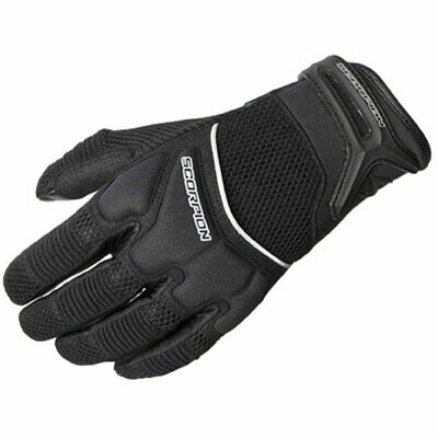 Scorpion Womens CoolHand II Short Cuff Mesh Motorcycle Gloves - Black - Med
