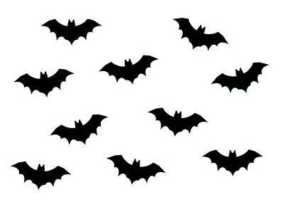 10x Iron-On Patch Iron-On Patches Patch Patch Miniblings 35mm Flock Bat Vampire