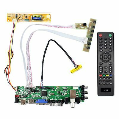 For 1280x800 HDMI VGA AV USB ATV DTV LCD Controller Board B154EW01 LP141WX3