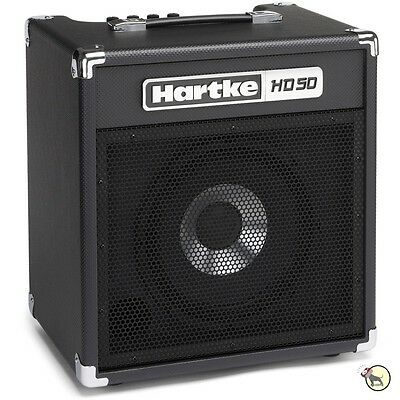 "Hartke HD50 Hydrive 50-Watt 10"" Small Practice Combo Bass Guitar Amplifier Amp"
