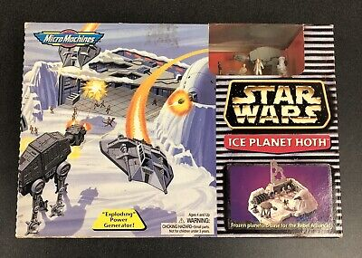Galoob Star Wars Micro Machines Ice Planet Hoth Playset New Sealed